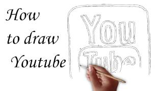 Drawing Picture|Teaching How to Draw | Animation Youtube Drawing 2016