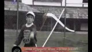 novak djokovic at age 7