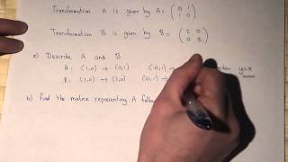 Matrices : Matrix Transformations