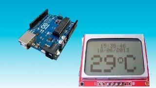getlinkyoutube.com-Como usar Display Nokia 5110 no Arduino