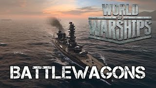 getlinkyoutube.com-World of Warships - Battlewagons