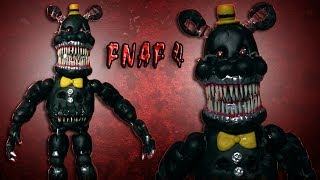 getlinkyoutube.com-FNaF 4 | Nightmare Posable Figure Polymer Clay Tutorial | Porcelana Fría