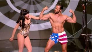 getlinkyoutube.com-Romeo & Lada the burlesque couple - Semi-Final 3 - France's Got Talent 2013