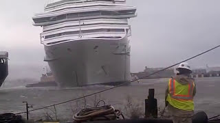 getlinkyoutube.com-Carnival Triumph Cruise Ship Breaks Free