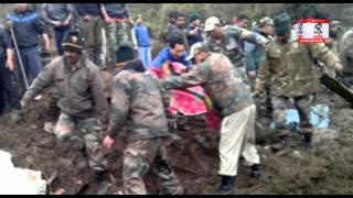 अरुणाचल प्रदेश: तवांग जिले में  भूस्खलन से मची भारी तबाही