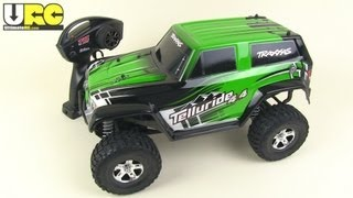 getlinkyoutube.com-Traxxas Telluride 4x4 first look out of the box