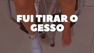 FUI TIRAR O GESSO E VOLTEI COM TALA. :(
