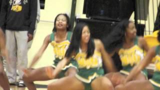 Norfolk State Cheerleaders 11/30/11