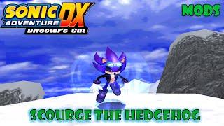 getlinkyoutube.com-Sonic Adventure DX Mods: Scourge the Hedgehog/Super Scourge