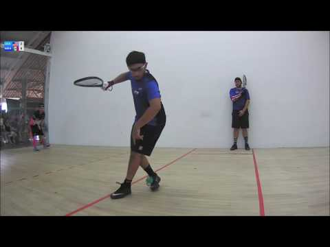 2016 Racquetball World Championships Mens Doubles Final MEX vs USA