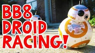 getlinkyoutube.com-BB8 Sphero Droid Racing!! Star Wars The Force Awakens BEST TOY!!