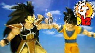 Dragon Ball Part 1-Raditz vs Goku and Piccolo Stop Motionラディッツ VS 孫悟空&ピッコロ 七龍珠-拉帝茲VS悟空與比克/拿迪斯VS悟空與魔童