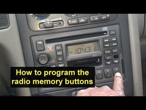 How to program your radio to remember your favorite stations - Auto Information Series