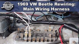 getlinkyoutube.com-JBugs - VW Beetle Rewiring - Main Wiring Harness