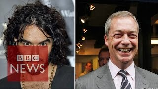 getlinkyoutube.com-Russell Brand & Nigel Farage clash over immigration on Question Time (11/12/2014)