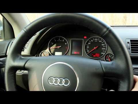 Где в Audi S6 Avant находится щуп уровня масла