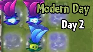 getlinkyoutube.com-Plants vs Zombies 2 - Modern Day - Day 2: Moonflower