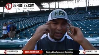 Carlos Zambrano regresa con los Cachorros de Chicago