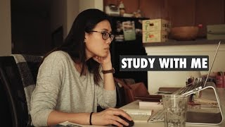 STUDY WITH ME | a real time study session (with study music)