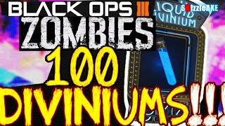 "getlinkyoutube.com-Black Ops 3 Zombies ""100 Liquid Diviniums Opening"" - PERKAHOLICS Opening! (Bo3 Zombies)"