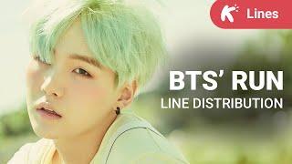 getlinkyoutube.com-BTS - Run: Line Distribution (colorcoded)