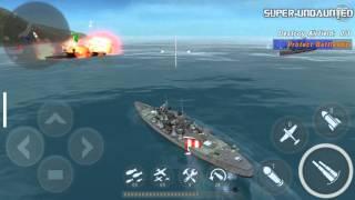 getlinkyoutube.com-[WARSHIP BATTLE] Episode 14 Mission 1 - Covering Fire