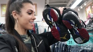 getlinkyoutube.com-PLAY OFF 8's FOR $25!!!!!!! TRIP TO THE THRIFT! LEBRON 9, KD AUNT PEARLS + MORE!