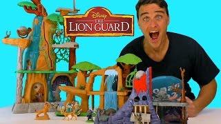 The Lion Guard Hyena's Hideout Playset ! || Toy Reviews || Konas2002