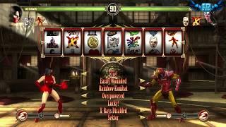 getlinkyoutube.com-Mortal Kombat Komplete Mods Blood Queen Kitana Test Your Luck Madness