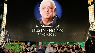 """getlinkyoutube.com-WWE Network: The WWE roster honors the life of WWE Hall of Famer """"The American Dream"""" Dusty Rhodes"""