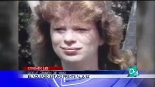 Acusado por doble crimen de 1990 estuvo frente al juez