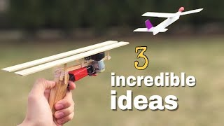 3 incredible ideas and Amazing Homemade inventions width=