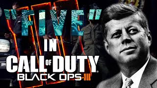 getlinkyoutube.com-Five Zombies In Black Ops 3 Zombies | JFK and Hudson in Black Ops 3 Zombies  | Black Ops 3 Story