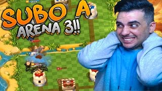 getlinkyoutube.com-SUBO A ARENA 3!! | TRIBAL MANIA | Rubinho vlc