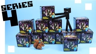 getlinkyoutube.com-Minecraft Mini-Figure Obsidian Series 4 Collection Review & Codes
