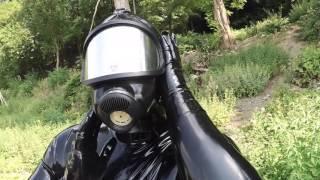 getlinkyoutube.com-Gas mask stroll in the sun - Part 1 of 2