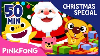 The Best Songs and Stories of Christmas | Christmas Compilation | Pinkfong Songs for Children