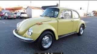 getlinkyoutube.com-1973 Volkswagen Super Beetle (VW 1303) Start Up, Exhaust, In Depth Review, and Test Drive
