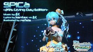 getlinkyoutube.com-【PDA-FT PV】SPiCa -39's Giving Day Edition-【初音ミク・オレンジブロッサム】(720p/60fps)