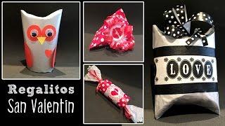 getlinkyoutube.com-Regalitos de San Valentín: Ideas de reciclaje