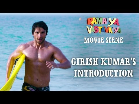 Girish Kumar's Introduction - Ramaiya Vastavaiya Scene