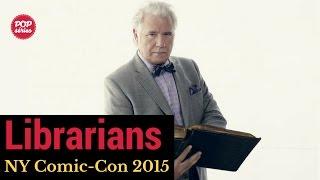 NYCC 2015: John Larroquette de The Librarians