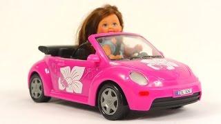 Мультфильм для девочек - Куклы для детей - играем в дочки матери - колыбельная