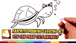 getlinkyoutube.com-My Favorite Drawing Lessons #1 (Not YouTube) You Can Draw Cute Animals