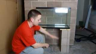 getlinkyoutube.com-Cheapest and easiest DIY aquarium stand