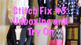 getlinkyoutube.com-Stitch Fix #3: Unboxing and Try-on