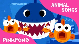 getlinkyoutube.com-Baby Shark | Animal Songs | PINKFONG Songs for Children