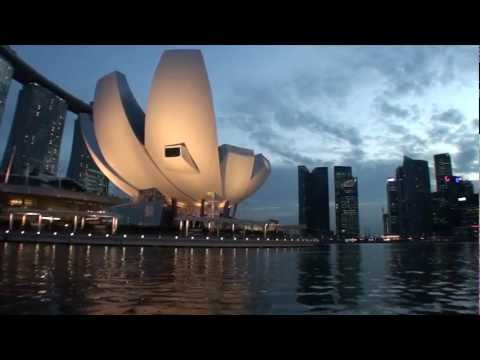 Singapore - Singapore River - Merlion to Clark Quay HD (2012)