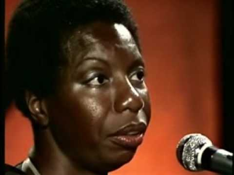 NINA SIMONE on DAVID BOWIE. JANIS JOPLIN and singing STARS( Live at Montreux. 1976)