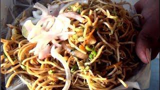 Street Food    Vegetable Noodles Recipe